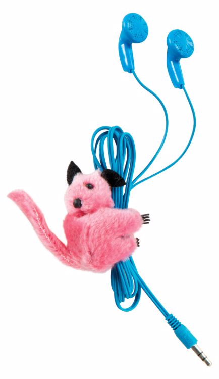 Picture of 4ct. Clip-On Critter Plush Animal Clip