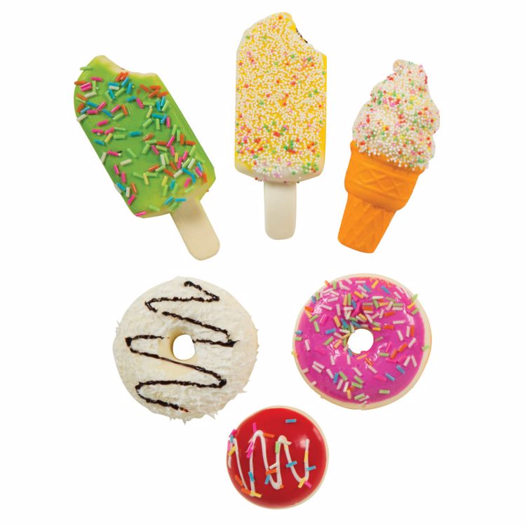 Picture of 4ct. Squishy Treats Toys