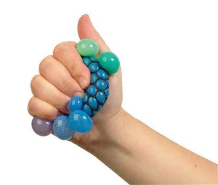 Picture of 2ct. Rainbow Mesh Squeeze Ball