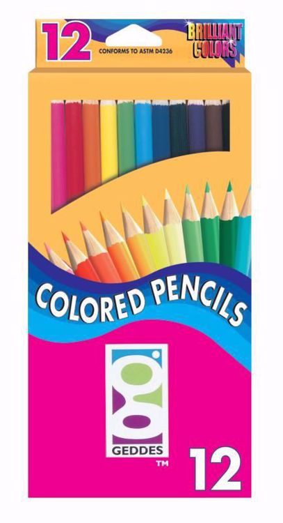 Picture of 12 Ct. Colored Pencils