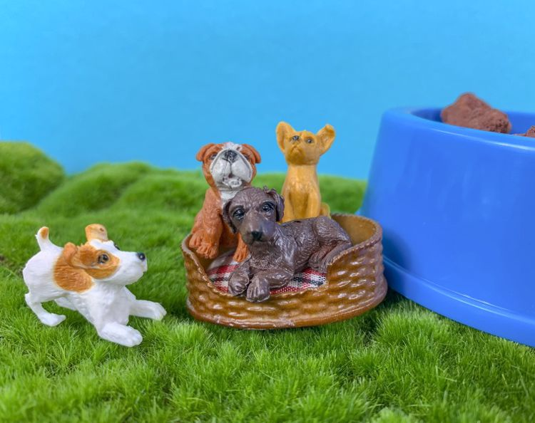 Picture of 10ct. Adopt A Puppy Figures