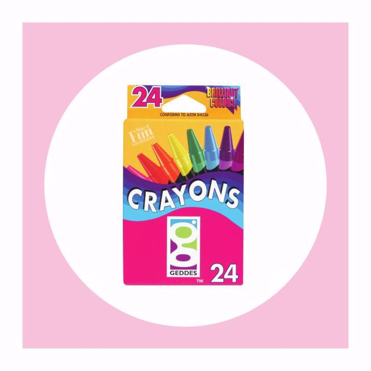Picture of 24 ct. Crayons