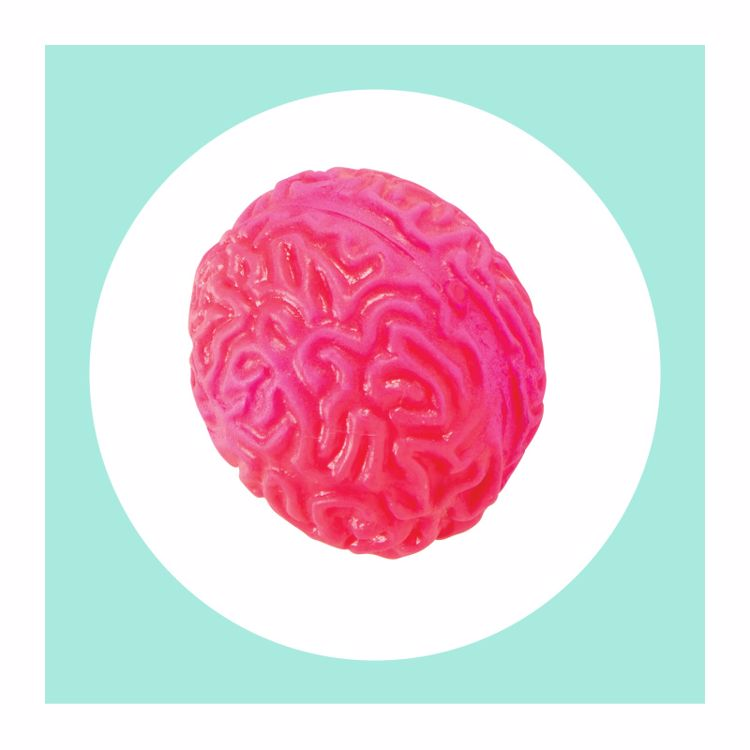Picture of 1ct. Alien Brain Squishy Toy