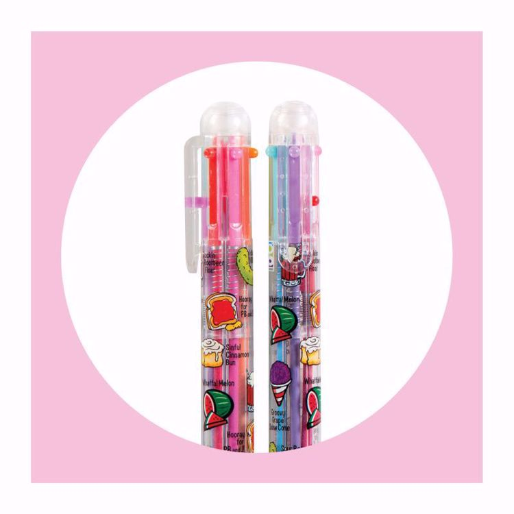 Picture of 1ct. Scent-Sibles Scented 6 Color Pen