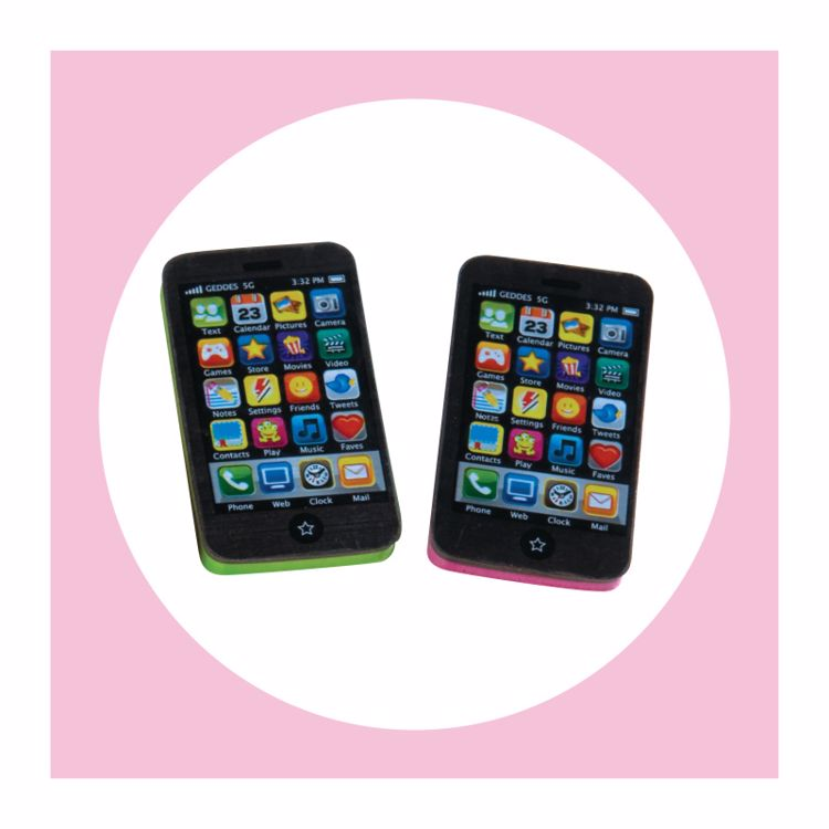 Picture of 2ct. Smart Phone Erasers