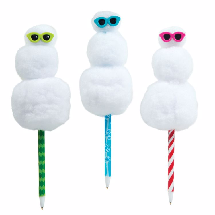 Picture of 1ct. Squishy Snowman Pen